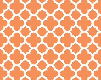 Quatrefoil in Orange (C435-60)