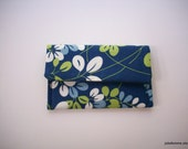 Leafy Botanical Beauty Business Credit Frequent Shopper Card Holder Case - joliefemme