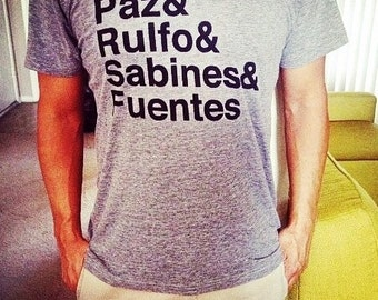mexican writers tee