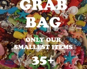 Grab Bag of our smallest charms, beads, trinkets, nic-nacs, doodads (qty 35)