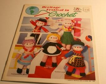 Vintage Heritage Festival in Crochet Pattern Booklet