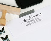 Custom Return Address Stamp - Rubber or Self Inking