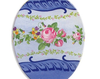 German Paper Mache Easter Egg Box 4.5 Inch  # 102 S