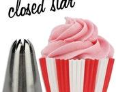 Closed Star Cupcake Decorating Tip #848