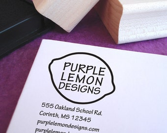 Customized Business Address Stamp