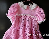 Dress, Toddler, Crocheted