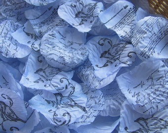 Wedding Flower Petals, blue wedding, Aisle decorations, Aisle runner, Flower girl petals, Table scatter, Wedding decoration, Rose petals
