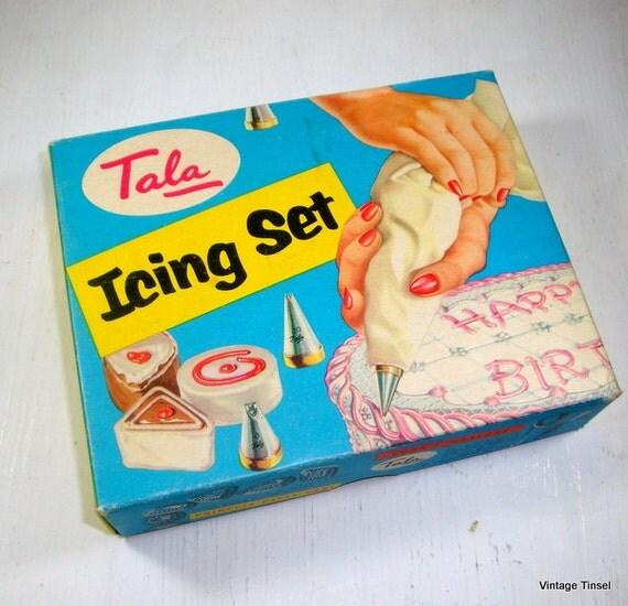 Tala Icing Set Icing Tubes Cake Decorating Kit 6 Frosting