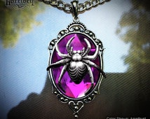 Custom Spider Necklace // Spider Jewelry // Gothic Jewelry