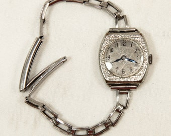 Wadsworth Ladies Watch Vintage Not Running LeCoultre 15 Jewel