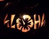 ALOHA Foam Pumpkin Halloween Decoration