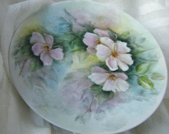 Rare Seltmann Weiden Vintage Hand Painted Porcelain Plate
