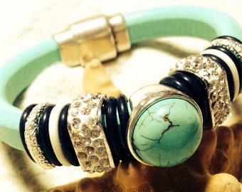 Regaliz Leather Bracelet