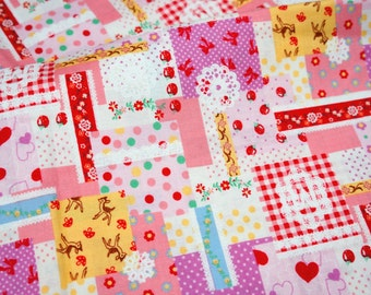 ON SALE Patchwork Style Fabric (n341)