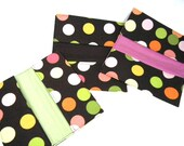 Checkbook Cover, Fabric Wallet, Coupon Holder, Teacher Gift, Money Holder, Fabric Checkbook, Cash Envelope, Check holder