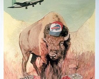 Buffalo - 18x18 Archival Giclee Print