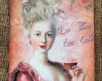 Marie Antoinette Let Them Eat Cake Tags #198
