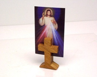 Wooden Cross, Prayer Card Holder, Order Quantites