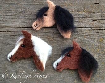 Horse Profile Needle Felting Kit