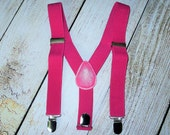 Hot Pink Suspenders Infant Suspenders girls suspenders toddler suspenders kids suspenders photo prop cake smash