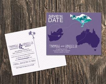 Bali - Save the Date - Destination Wedding