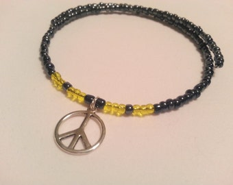 Childrens Necklace Peace