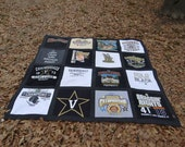 Tee Shirt Quilt with your 16 T shirts