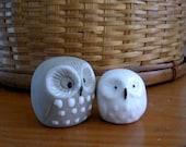 Mini Owl Totems / Figurines