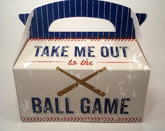 Gourmet Dog Treats - Take Me Out To The Ball Game - Gift Tote Vegetarian All Natural - Shorty's Gourmet Treats