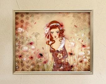 Limited Edition Print - Flower Island 3/30