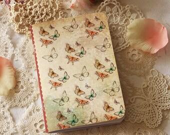 Illustrated notebook - Little Butterflies