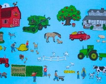 Farm Friends Felt Board Set -- TONS of animals