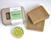 Patchouli Lime- creamy, refreshing and clean