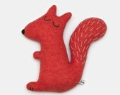Stanley the Squirrel Lambswool Plush Toy - In stock