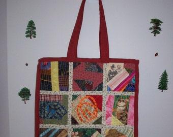 Crazy Quilt Tote Bag