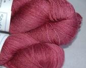 Studio June Yarn Silky BFL Lace - Dark Cherry