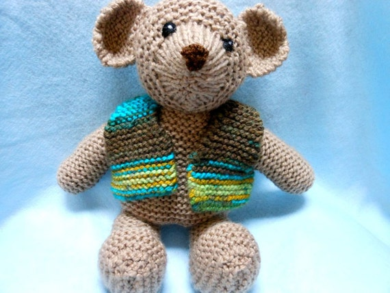 how to make knitted stuffed animals
