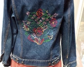Levi's Rare 60's Type III Jacket with Embroidered Back