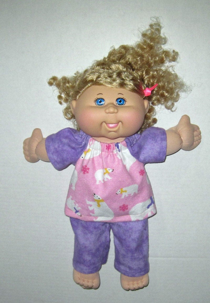 cabbage patch doll clothes polar pink and by