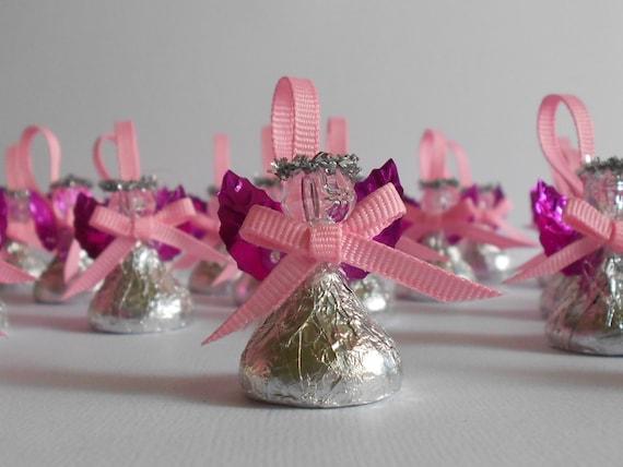 Chocolate candy angel favor de bautizo por