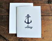 Ahoy - Greeting Card