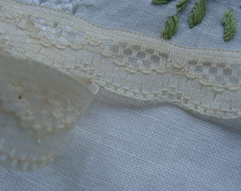 Gorgeous Antique English Netted Lace