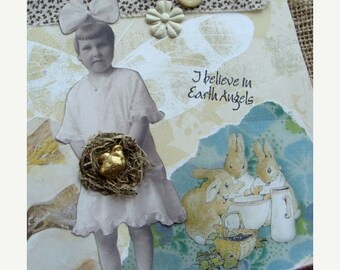 Vintage Chicks Brass Charms Detailed Stampings Lot for Easter Jewelry or Altered Art