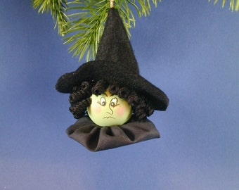 Oz Wicked Witch Ornament; Wicked Witch of the West; Green Witch