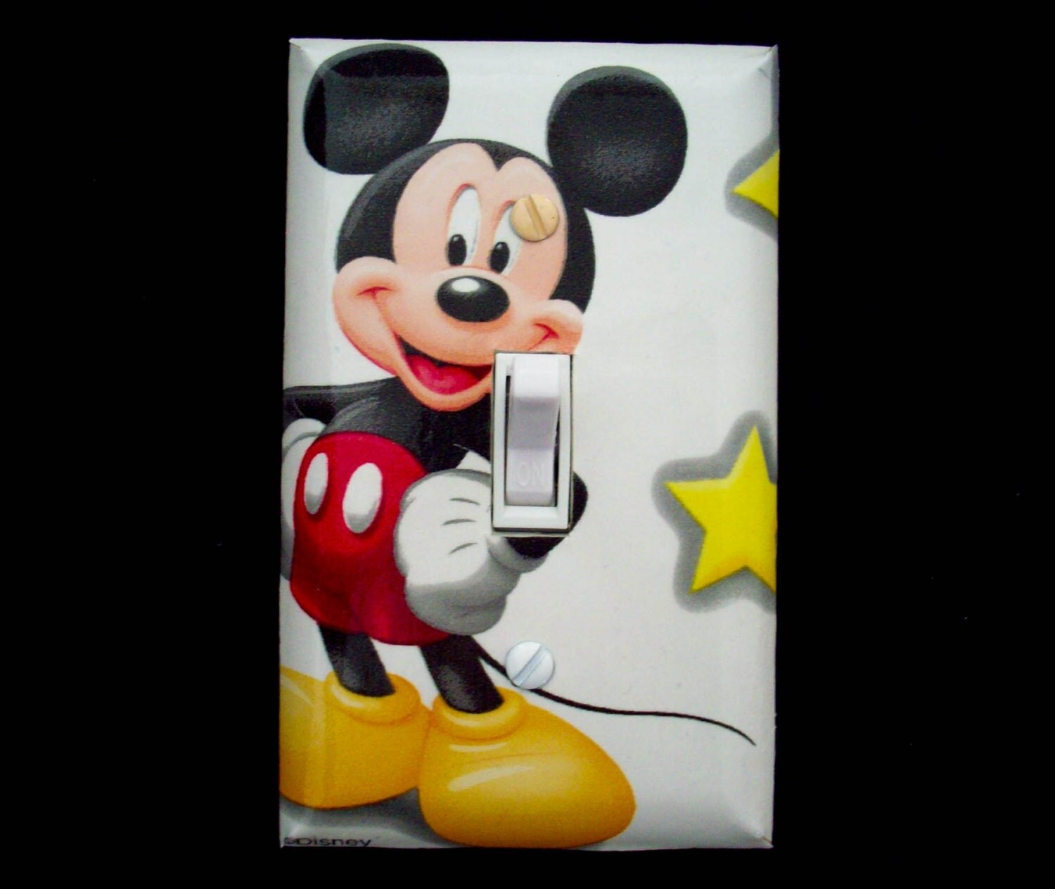 Light Switch Cover Disney Mickey Mouse / Childrens Decor