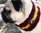 Gryffindor Dog Neck Warmer