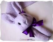 Candy Violet Bunny Rabbit Scarf
