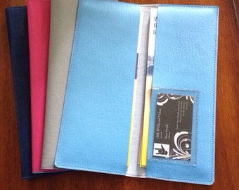 Tract Holder plus business card pocket