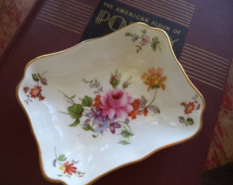 Vintage Royal Crown Derby Trinket Dish