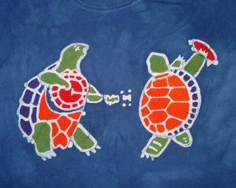 The Grateful Dead Terrapin Turtle Batik Tee Shirt CUSTOM Made For You
